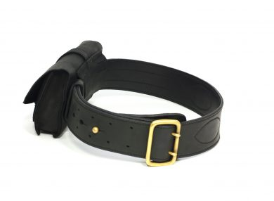 Mahiout garrison belt and Monty pouch