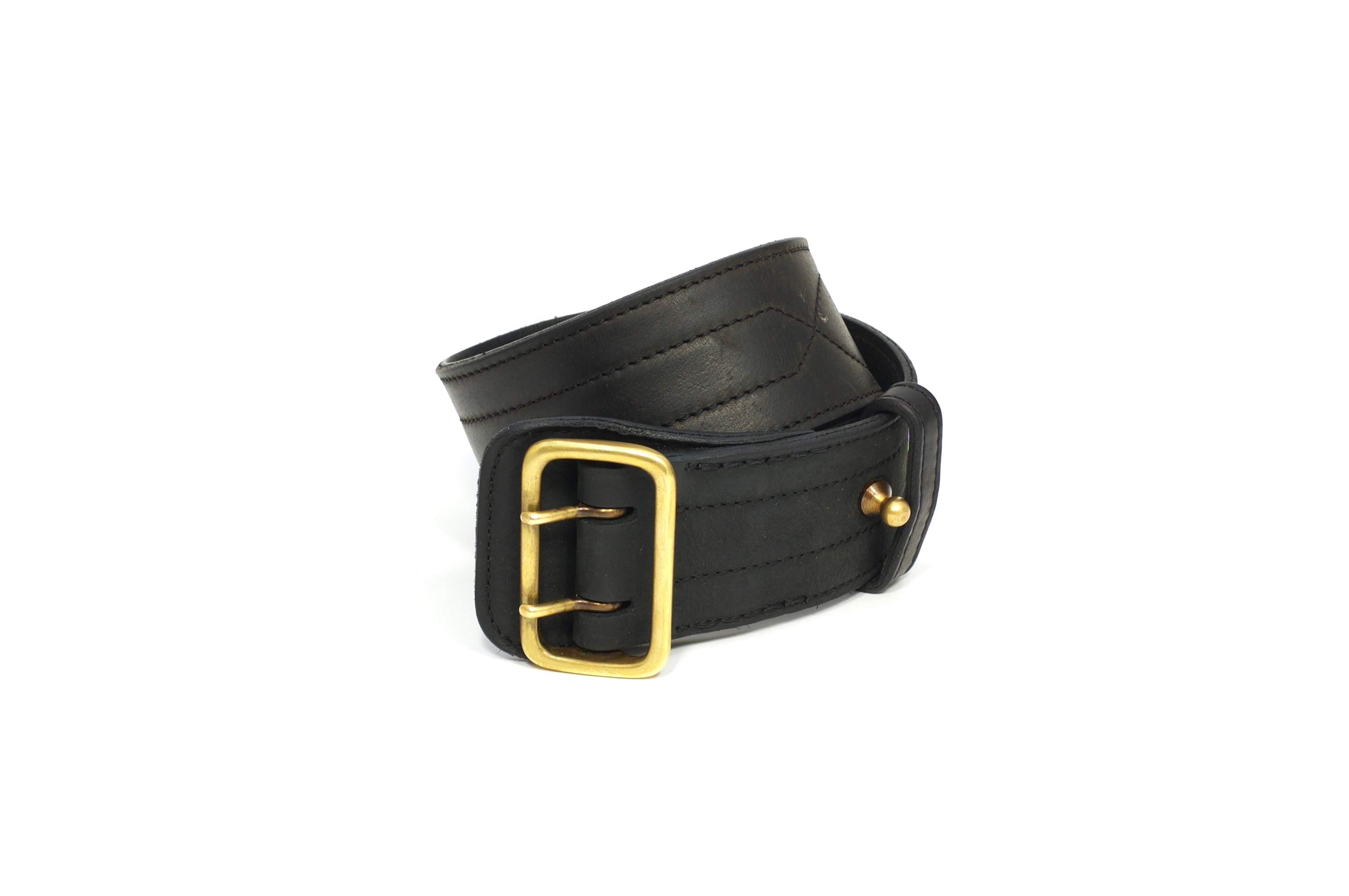 Mahiout garrison belt in leather