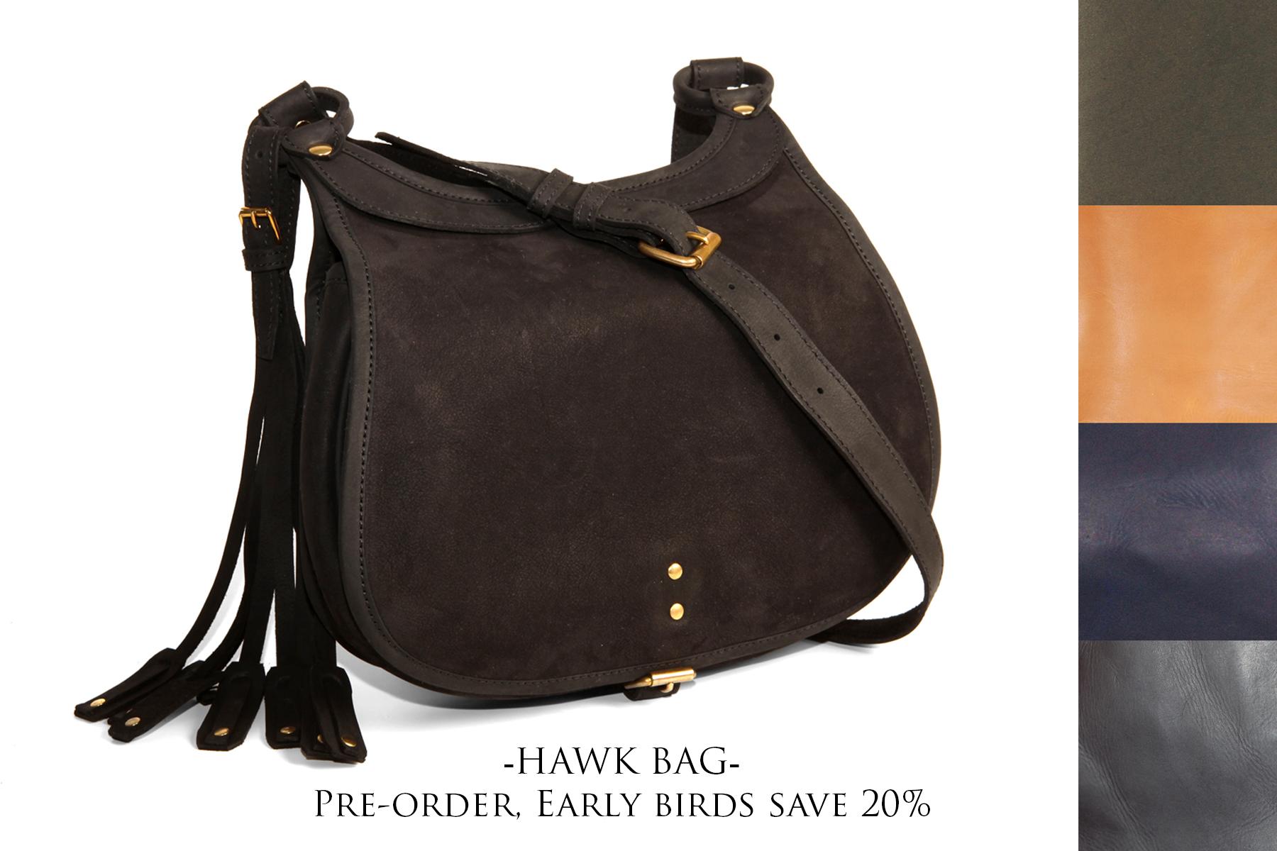 mahiout hawk bag pre-order