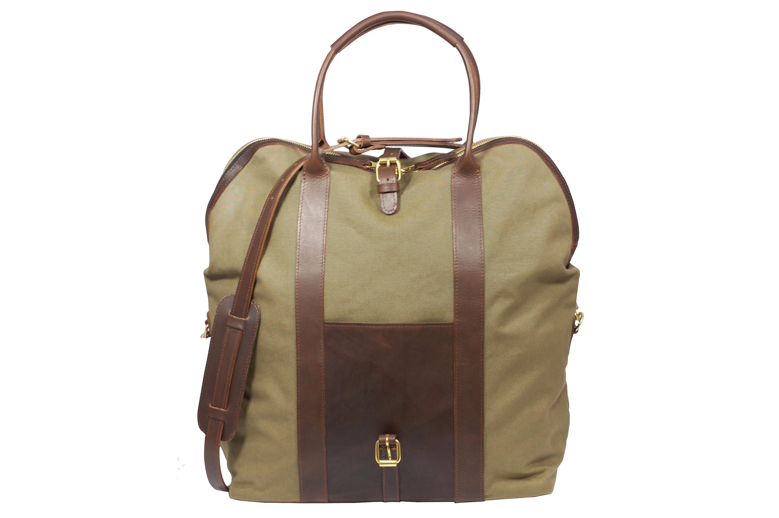 Mahiout Doc bag, travel, weekend bag, vegetable tanned leather, designer bag, luxury bag
