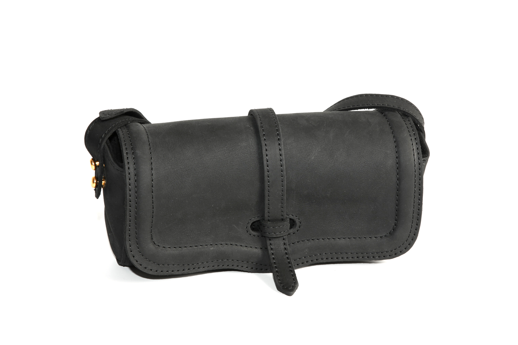 Mahiout Tatra clutch in leather