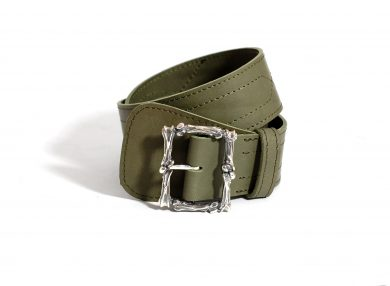 Tyvodar x Mahiout Garrison belt in leather
