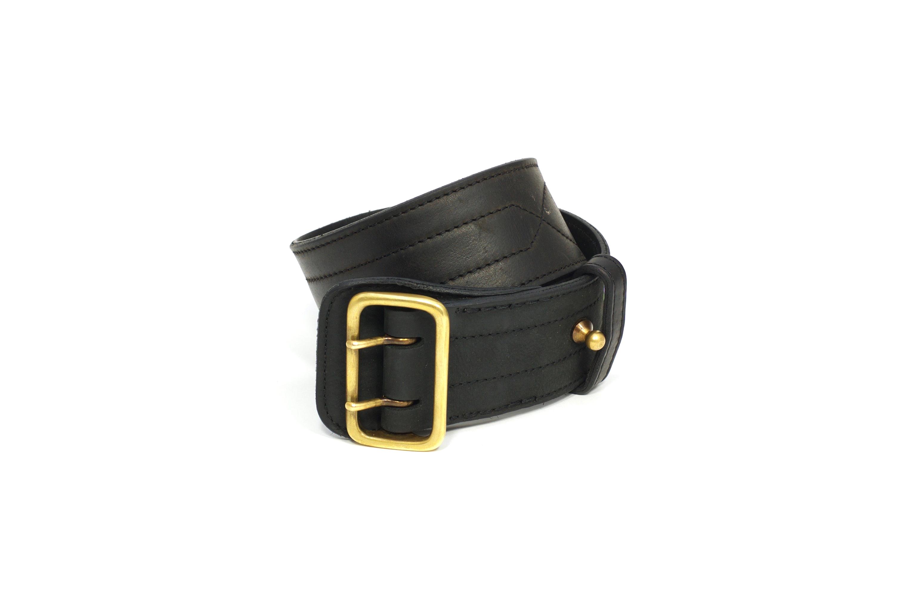 Mahiout garrison belt in leather