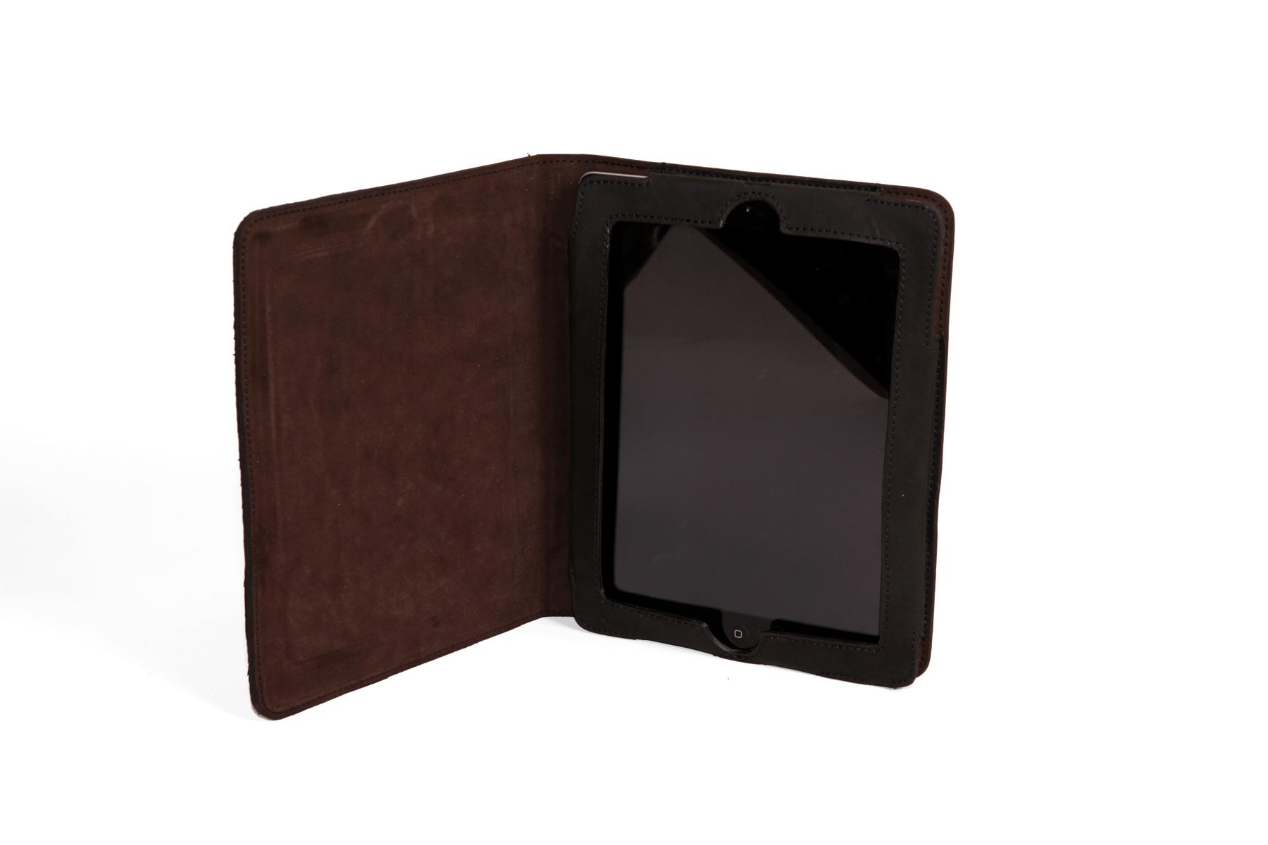 mahiout ifield iPad case in salmon skin