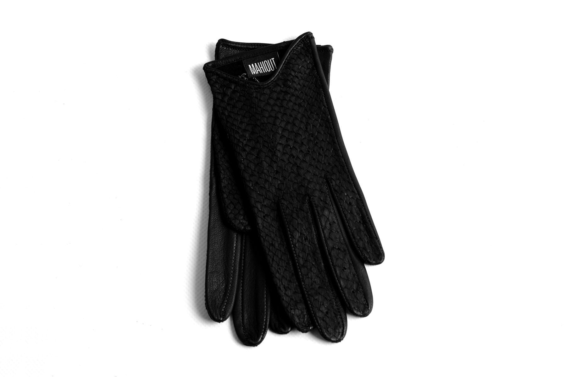 Mahiout Italian gloves in salmon skin