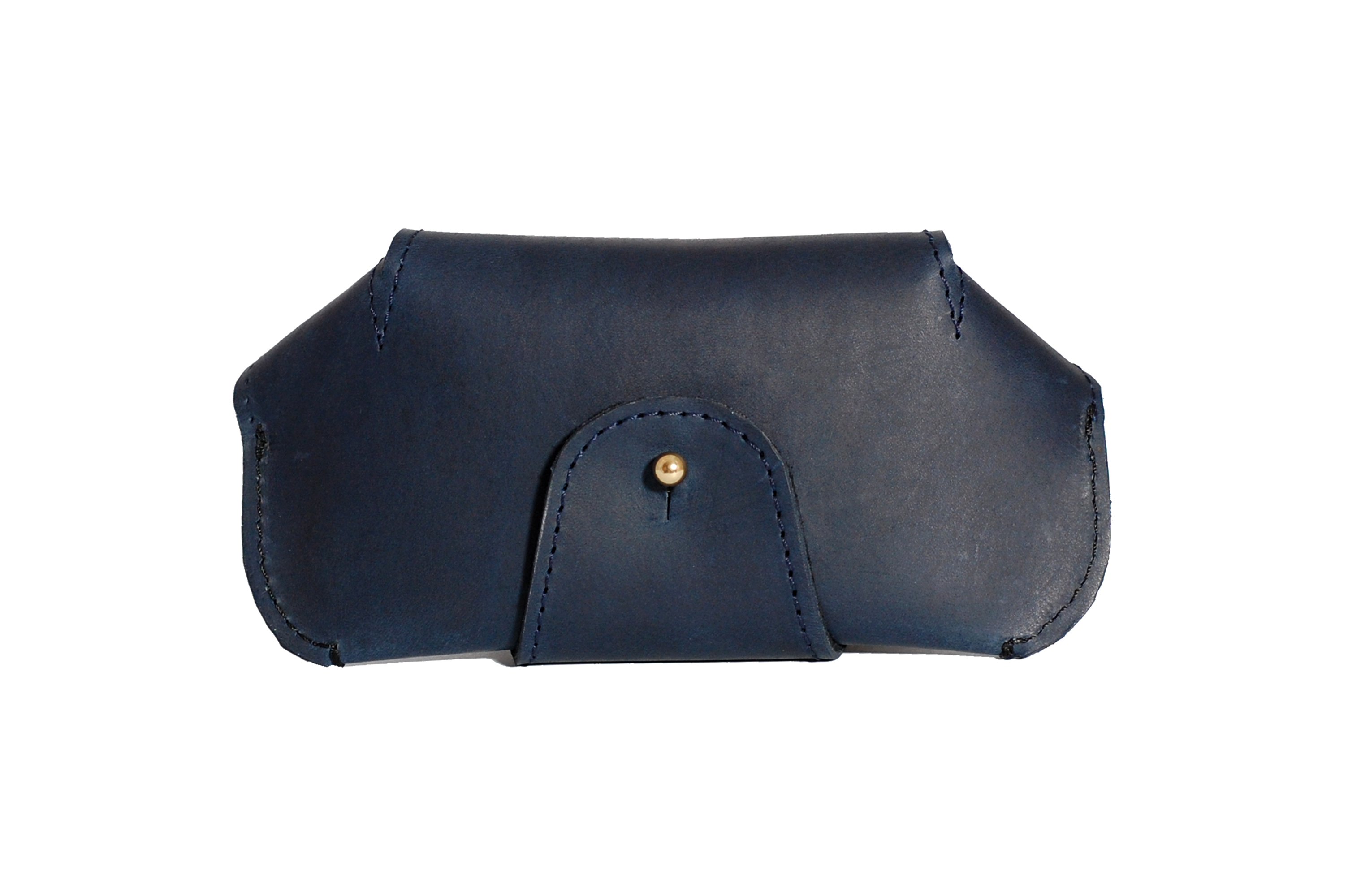 Mahiout Marshal sunglass case in leather