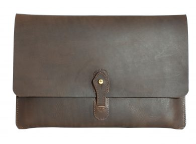 Mahiout Marshal computer case in leather
