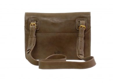 Mahiout Courier satchel bag in leather
