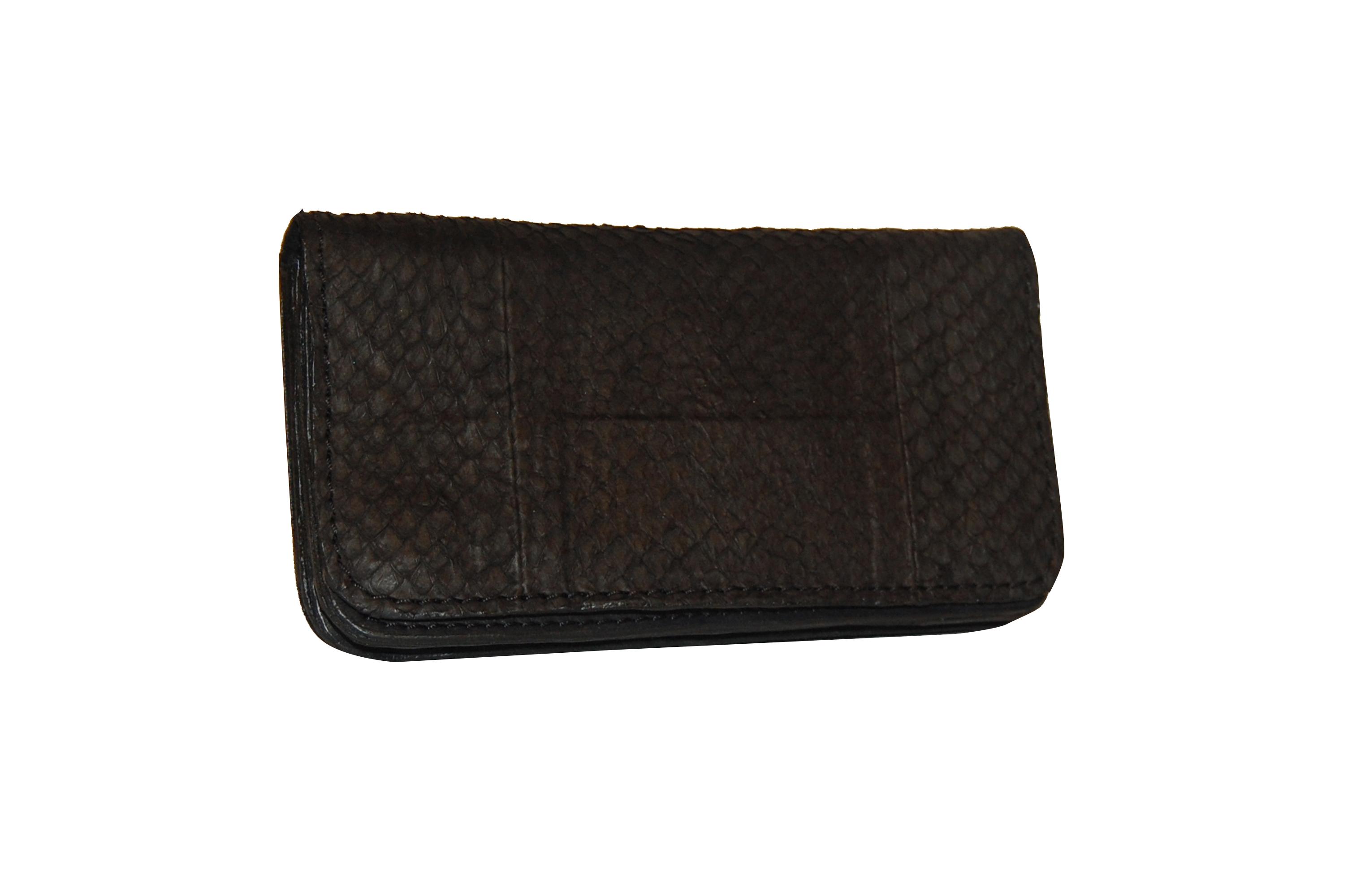 Mahiout Evo wallet in salmon skin