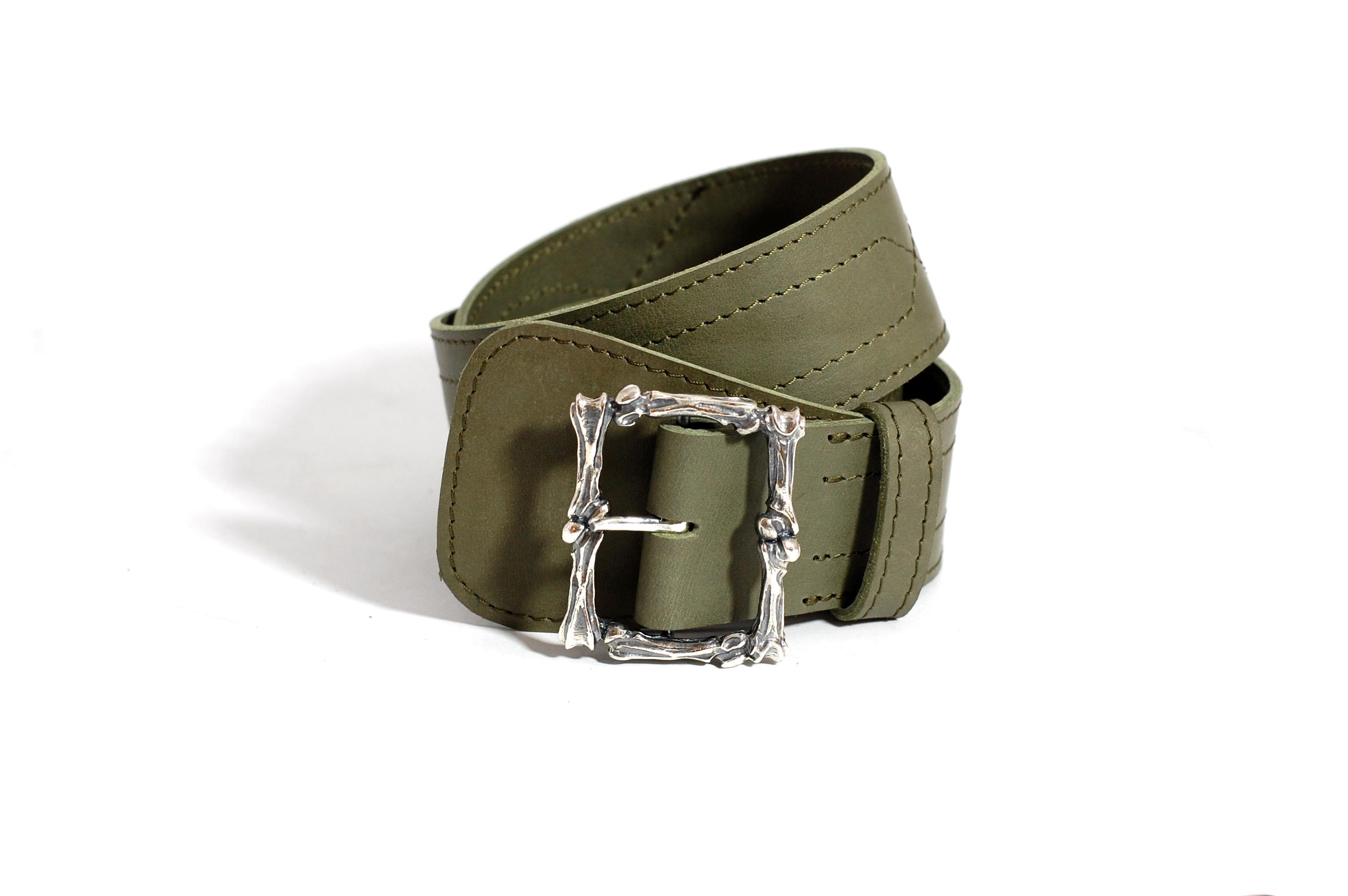 Tyvodar x Mahiout Garrison belt in leather