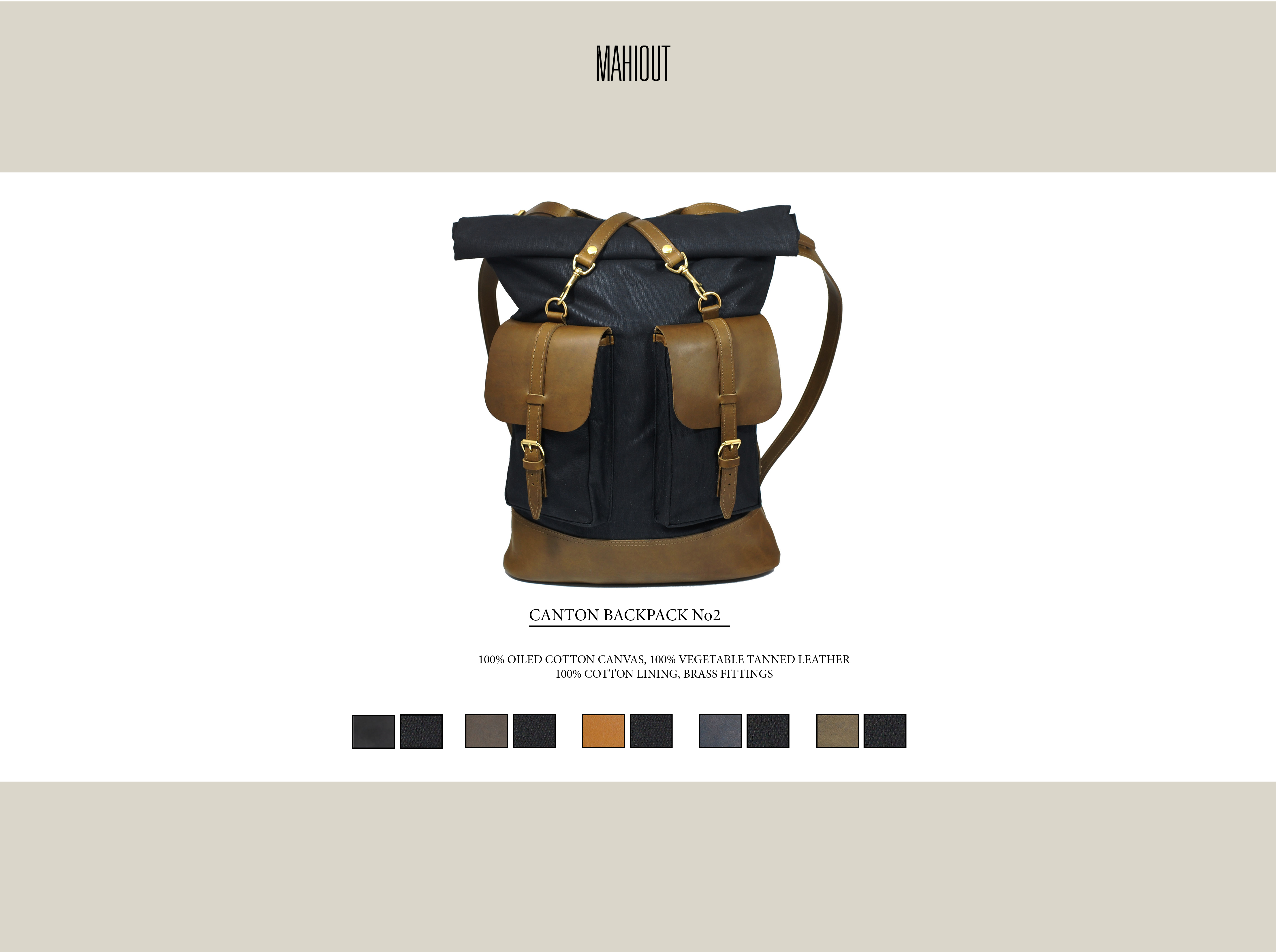 mahiout canton backpack number 2