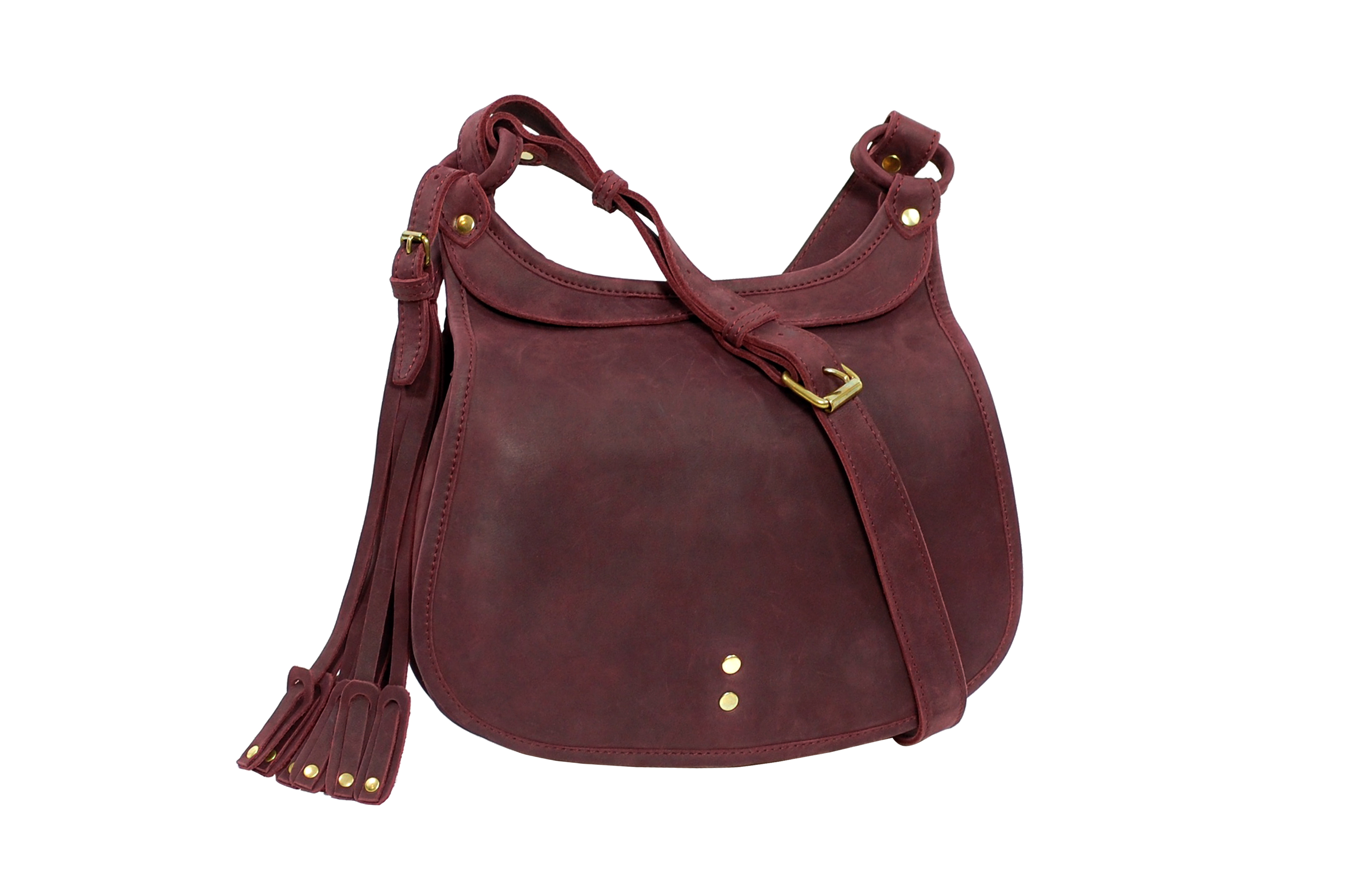 mahout hawk bag in leather
